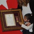 Şehit Musa Sonay'ın 5 yaşındaki kızı Öykü İkra herkesi ağlattı