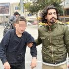 Taksim'de patenci çocukları şoförden polis kurtardı