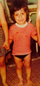 Cem Yılmaz'ın çocukluk fotoğrafı