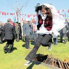 Nevruz'a mehterli kutlama
