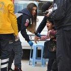 Bursa'da 112 görevlisi yaralı çocukla birlikte ağladı