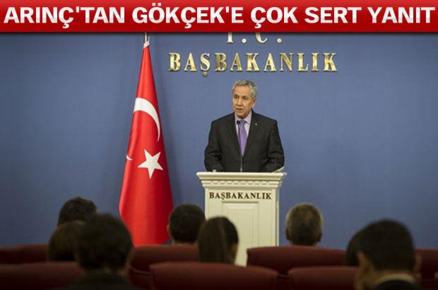 Başbakan Yardımcısı Bülent Arınç'tan Bakanlar Kurulu sonrası Melih Gökçek hakkında sert açıklamalar