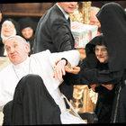 Papa Fransuva'ya Napoli'deki katedralde büyük ilgi