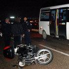 Bursa'da motosiklet kazasında 1 ölü, 1 yaralı