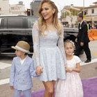 Jennifer Lopez ikizleriyle