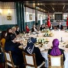 Recep Tayyip Erdoğan, Cumhurbaşkanlığı Sofrası'nda kadın konuklarını ağırladı