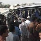 Pakistan'da aynı bölgede iki ayrı otobüs kazası