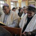 Edirne'deki Büyük Sinagog'da 46 yıl sonra ilk kez ibadet yapıldı