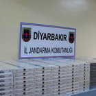 Diyarbakır'da 20 bin paket kaçak sigara ele geçirildi