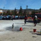 Yozgat'ta öğrenciler tatbikat dumanından zehirlendiler