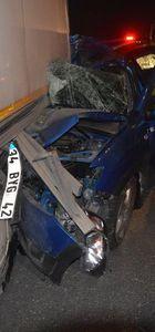 TEM'de kaza: 1 ölü, 3 yaralı
