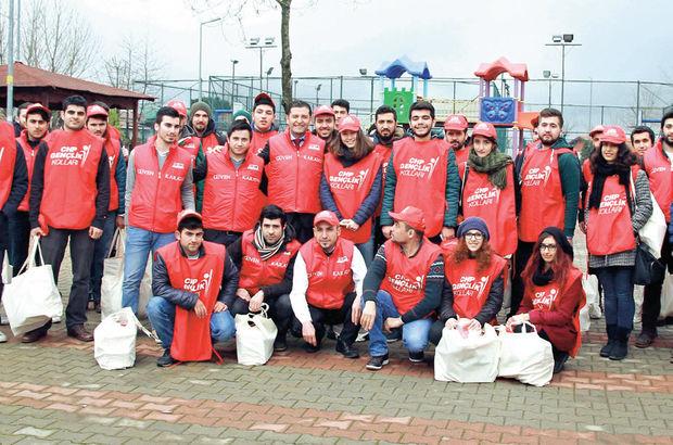 100 kişilik ekiple üyeleri ziyaret etti