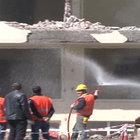 Kayseri'deki tehlikeli yıkım sırasında vatandaşlar zor anlar yaşadı