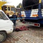 Aydın'da gece bekçisinin cesedi kamyon ve kamyonet arasında bulundu