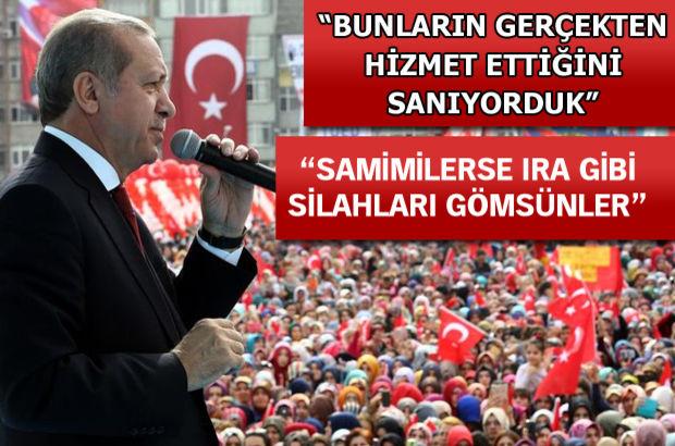 Erdoğan: Aksaklık görürsem uyarırım