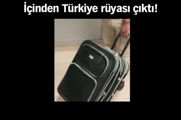 Türk gümrüğünü şoke eden bavul!