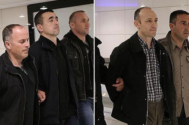 O iki polis İstanbul'a getirildi