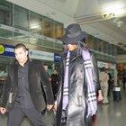 Naomi Campbell İstanbul'dan uçtu