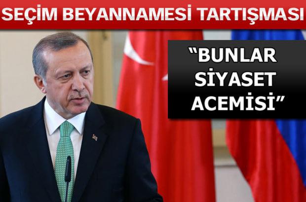 Erdoğan: Muhalefet gönderirse memnuniyetle yardımcı olurum
