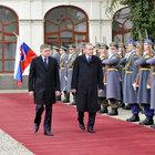 Erdoğan Slovakya'da