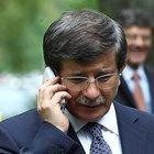 Başbakan Davutoğlu Cumhurbaşkanı Erdoğan'ı aradı