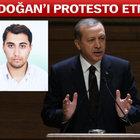Savcıyı şehit eden terörist Şafak Yayla'nın ağabeyi Erdoğan'ı protesto etmiş