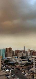Kum fırtınası Körfez ülkelerinde hayatı sekteye uğrattı