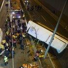 Büyükşehir Belediyesi Özel Toplu Taşıma Aracı, şarampole uçtu: 1 kişi öldü