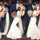 Üçüzlere toplu düğün