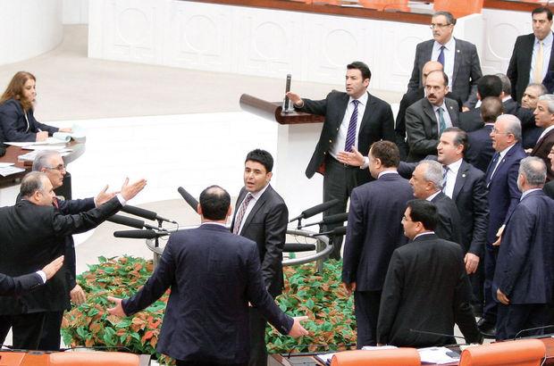 Meclis'te kavga hız kesmiyor