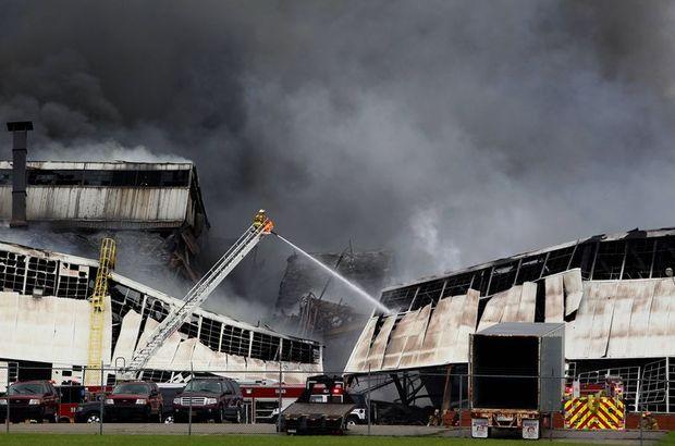 General Electricin fabrikasında yangın
