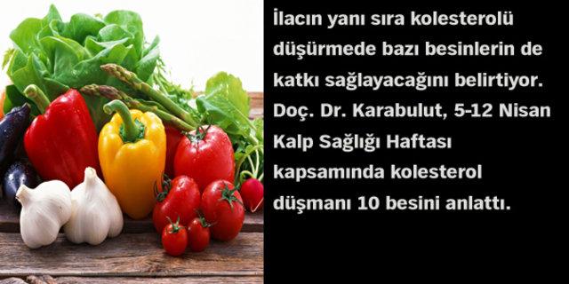 Kolesterol düşmanı 10 besin!, Kolesterole İyi Gelen Besinler, Kolesterole Düşman Gıdalar, Kolesterol Düşüren Besinler