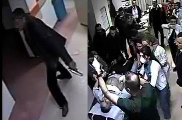 Sivas'ta hastanede silahlı saldırı