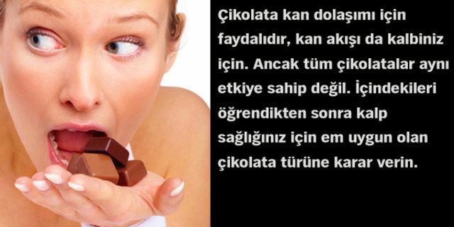 Hangi çikolata türü daha yararlıdır