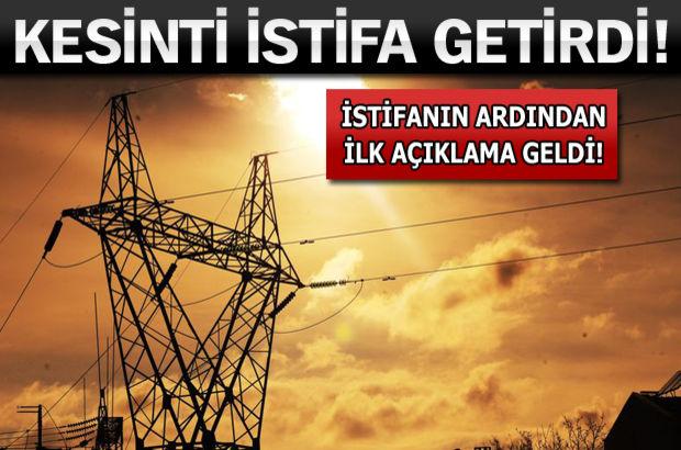 Enerji ve Tabii Kaynaklar Bakanı Taner Yıldız,Elektirik kesintisi, TEİAŞ Genel Müdürü, Kemal Yıldır