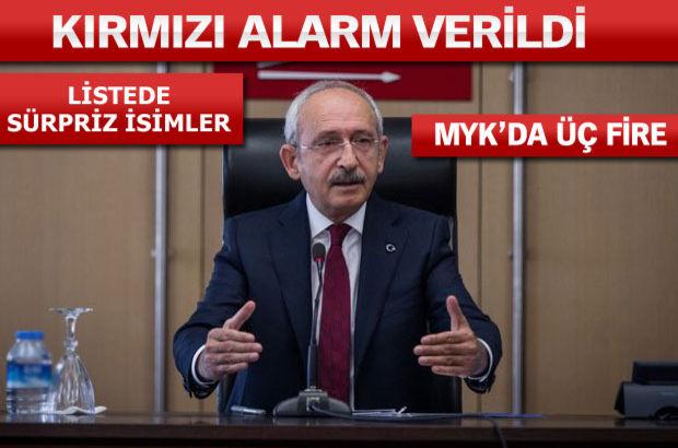 Kılıçdaroğlu A takımını korudu
