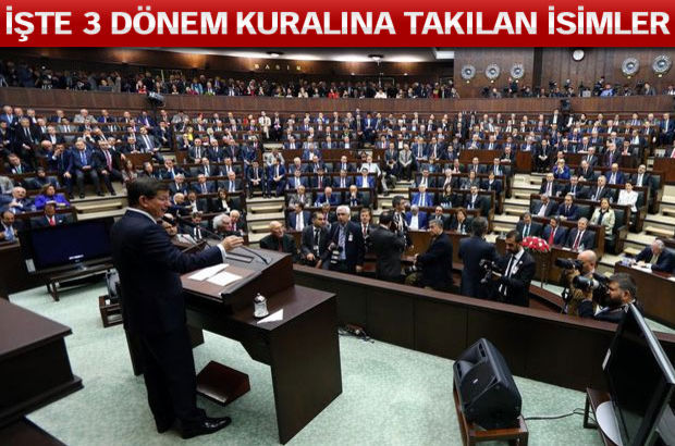 AK Parti'de 76 vekil listede yok çünkü...