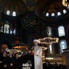 Ayasofya'da 85 yıl sonra ilk kez Kur'an okundu