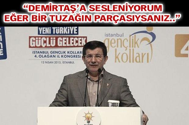 Başbakan Ahmet Davutoğlu, AK Parti İstanbul İl Gençlik Kolları Kongresi