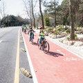 Bisikletli 'Yeşil Kampüs'