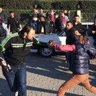 Sakarya'da motosiklet kavgası