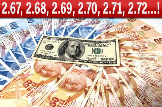 dolar döviz rekor