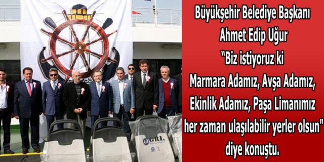 Türkiye'nin Titanic'i suya indi