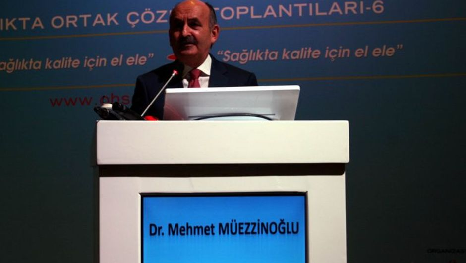 Sağlık Bakanı Mehmet Müezzinoğlu, sezaryen doğum