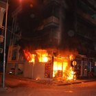 Aydın'da korkutan yangın: İş yerinden 7 tüp çıkarıldı