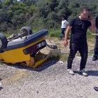 Adana'da sürücüye, 'Otomobili nasıl bu hale getirdin' tepkisi