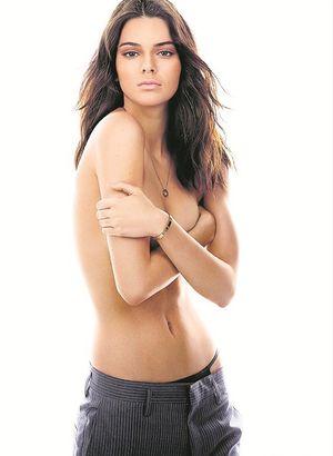 Kendall Jenner'in cesur pozları