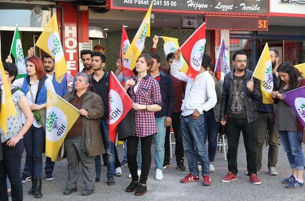 HDP seçim çalışmasında gerginlik