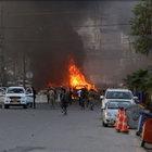 Irak'ta ABD Başkansolosluk binası yakınında patlama