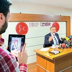 MHP'li Vural konuştu, oğlu 'Periscope'tan yayın yaptı
